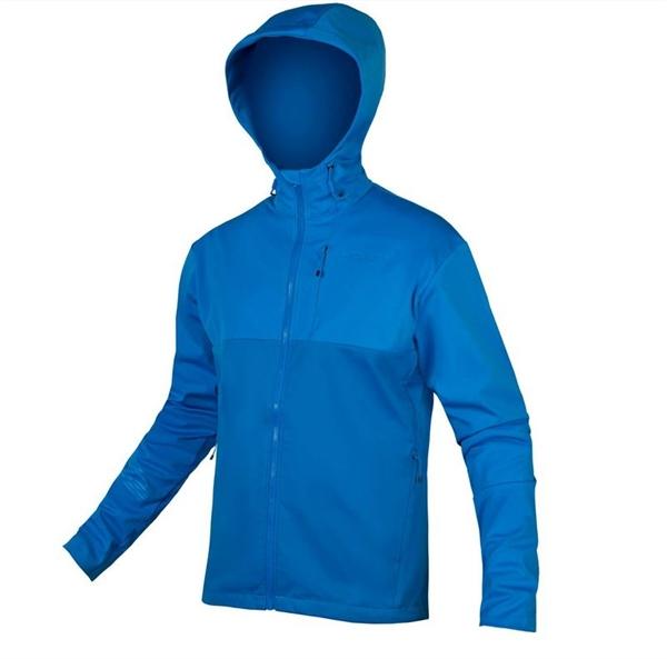 Endura Singletrack Softshell Jacke II azur blau