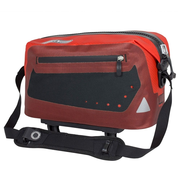 Ortlieb Trunk-Bag signal red-dark chili