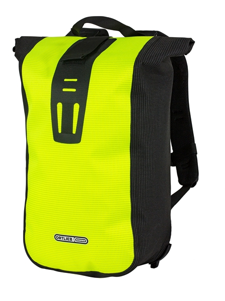 Ortlieb Velocity High Visibility neon yellow - black reflex