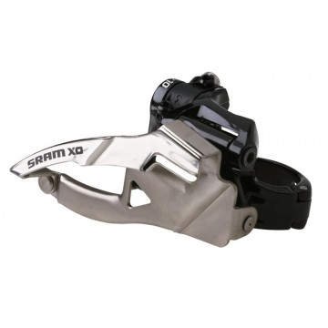 SRAM X0 2x10-fach Umwerfer low Clamp, 31,8 mm, 34 Z. Top Pull