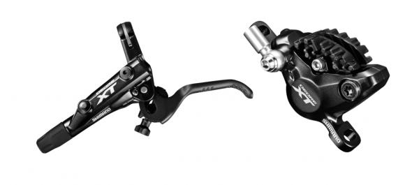 Shimano Deore XT Scheibenbremse BR-M8000 AM VR mit Kühlrippen schwarz
