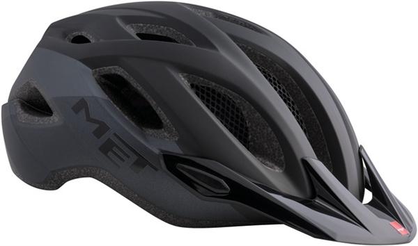 Met Crossover MTB Helmet Matt Black