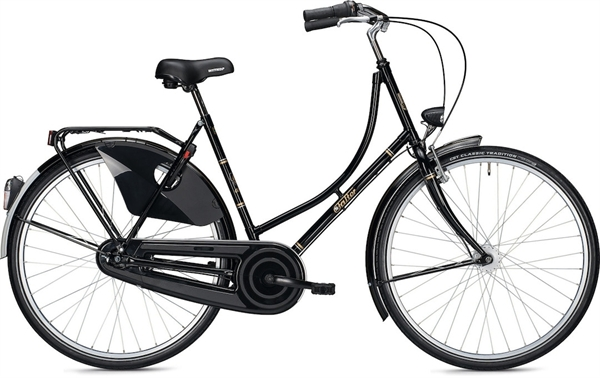"Falter Classic Bike H 3.0 28"" Schwarz Glänzend"