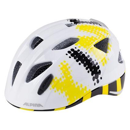 Alpina Ximo Flash white-black-yellow