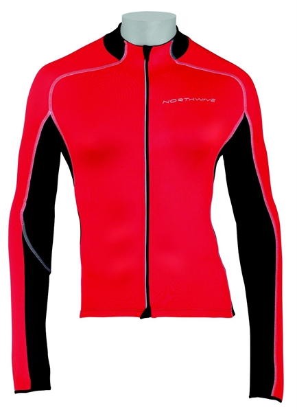 Northwave Mamba Jersey Long Sleeves red/black Sale