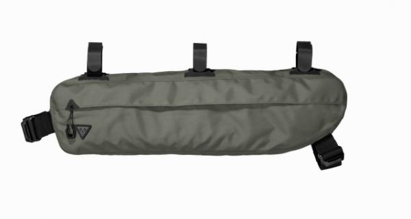 Topeak Midloader 6 liter bike bag for Frame Attachment green