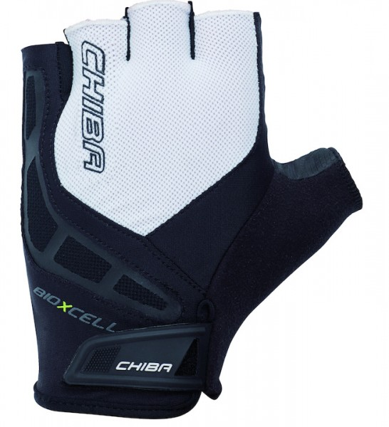 Chiba BioXCell Handschuh schwarz/weiß