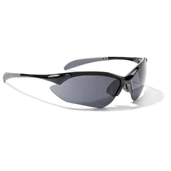 Alpina Tri-Quatox Brille black / clear / orange