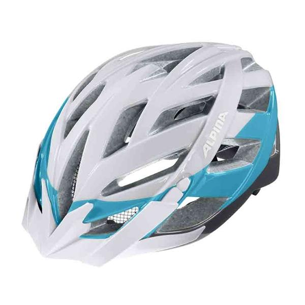 Alpina Panoma Helm white-blue titanium