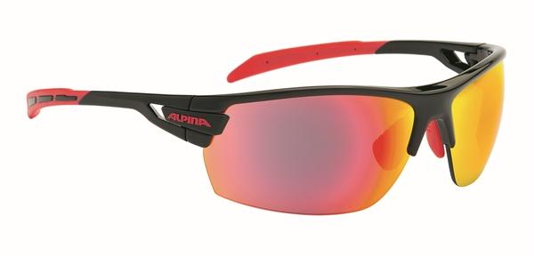 Alpina Tri-Scray Brille black-red