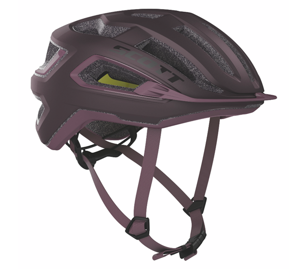 Scott Helmet Arx Plus maroon red/cassis pink