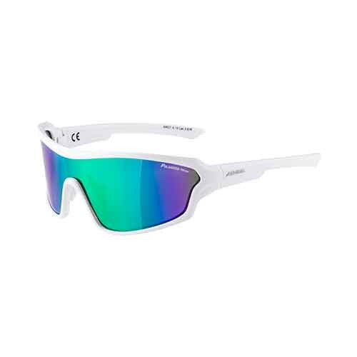 Alpina Lyron Shield glasses white matt