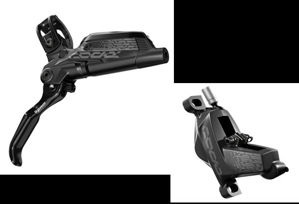SRAM Code R Scheibenbremse - schwarz