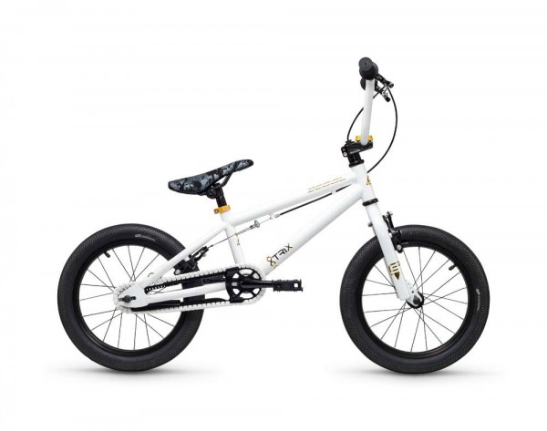 S´COOL XtriX mini BMX 16'' steel 1-speed white/gold