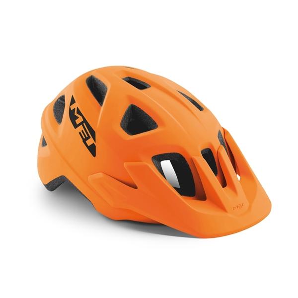 Met Echo Helmet Orange Met