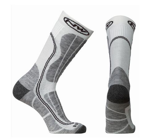Northwave Husky Ceramic Tech Socks black / white Size M (40-43)