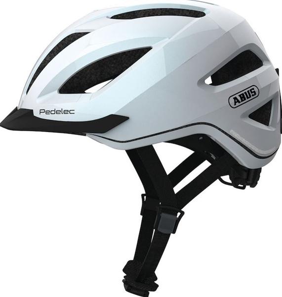 Abus E-Bike Helm Pedelec weiß