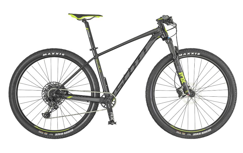 74a1071dfad Scott Bike Scale 950 black/green 2019   buy   ActionSports.de   Bike Webshop