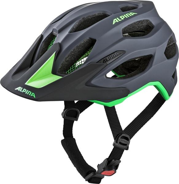 Alpina Carapax 2.0 Helmet charcoal-green