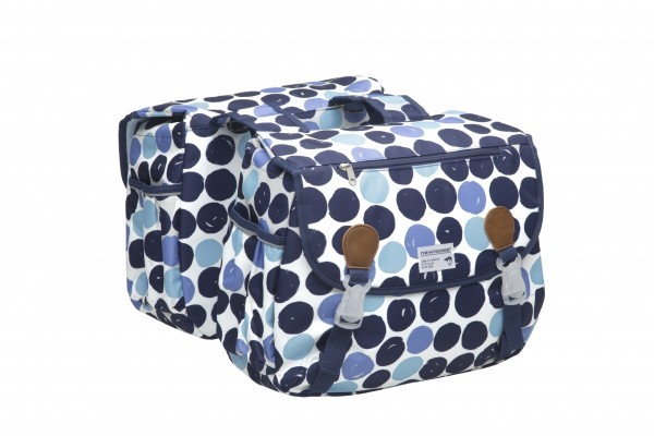New Looxs Joli Double Double Bag Dots Blue