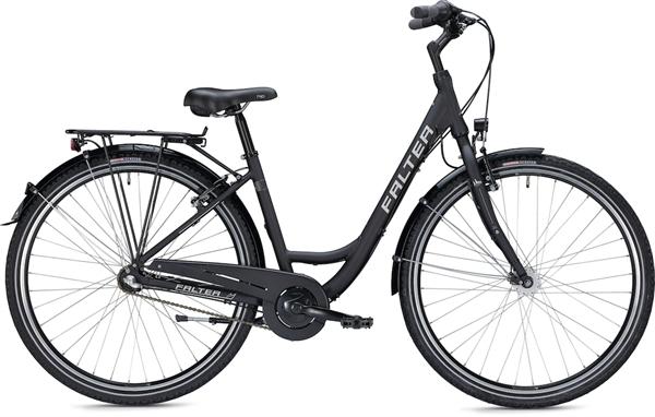 """Falter City/Urbanbike C 2.0 Wave XS (42) 26"""" matt schwarz"""