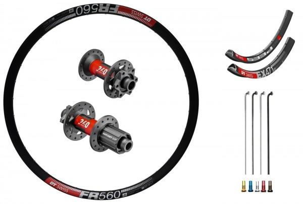 "DT Swiss 240 EXP Disc IS Custom Wheelset MTB 26"""