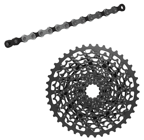 Sram chain and cassette kit - GX1 11-speed