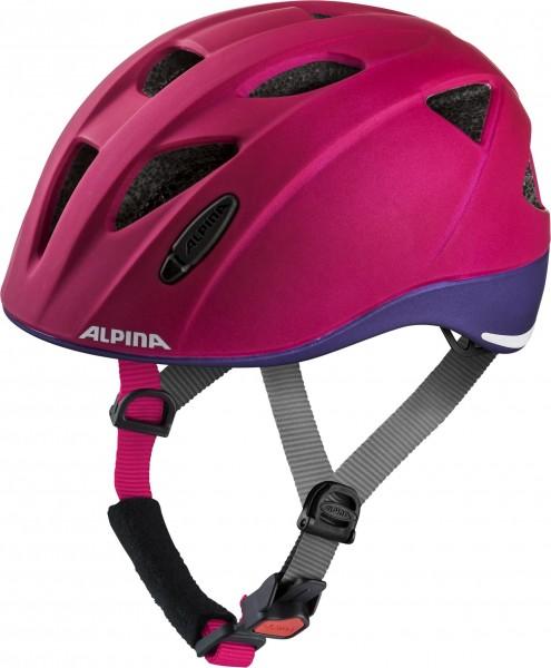 Alpina Ximo LE Kinderhelm deeprose-violet