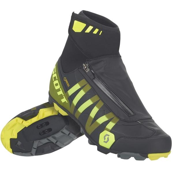 Scott Shoe MTB Heater Gore-Tex black sulphur yellow