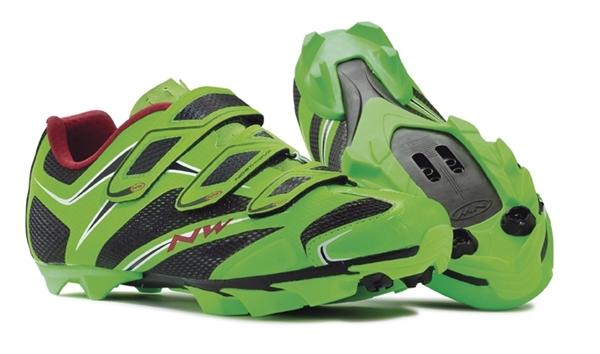 Northwave Scorpius 3S MTB shoe green fluo