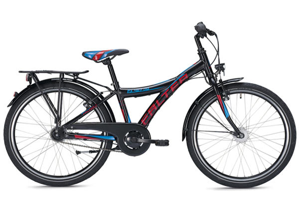 Falter FX 407 ND 24 inch Y black/red Kids Bike