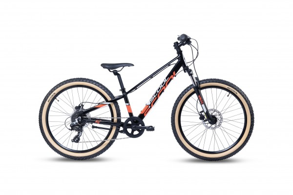 S´COOL Xroc Disc 24 Aluminium 8-Gang Altus black/grey/red