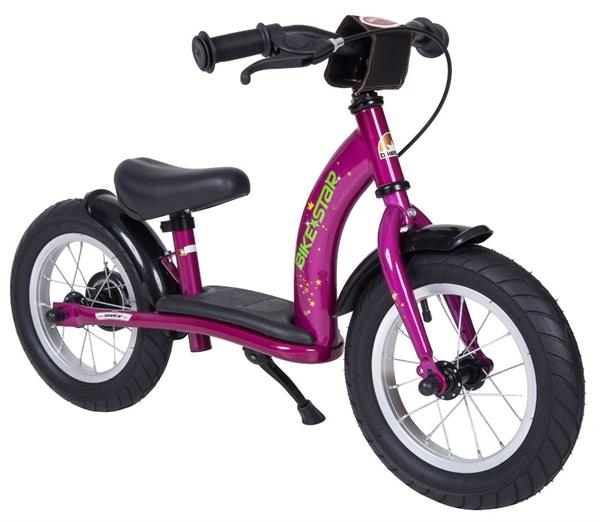 Bikestar Sicherheits-Kinderlaufrad Classic 12 Zoll bezaubernd berry violett