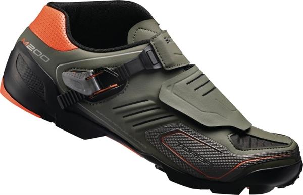 Shimano SH-M200G MTB Schuh matt grün %