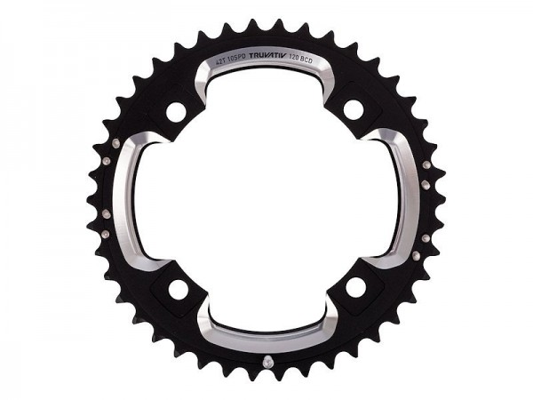 Truvativ chainring MTB 10-speed 42 teeth, black
