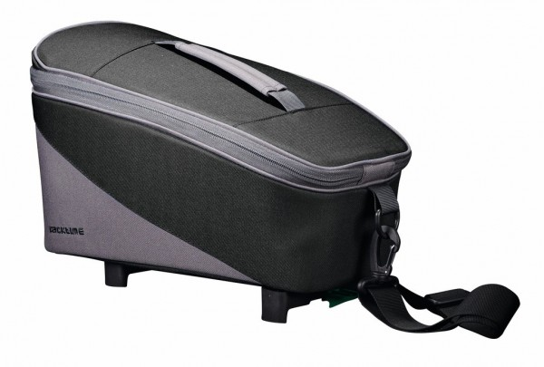 Racktime Gepäckträgertasche Talis trunk bag eco carbon black/stone grey