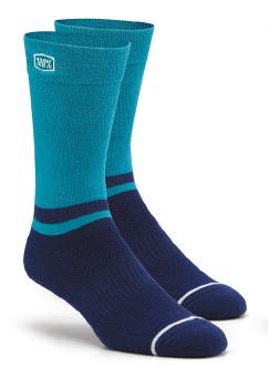 100% Block Athletic socks navy
