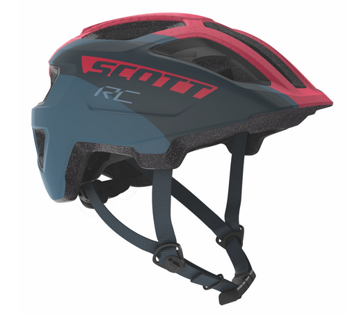 Scott Spunto Junior Helmet dark blue/pink RC