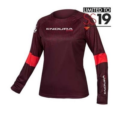 Endura WMS MT500 L/S PrintT II LTD Jersey berry