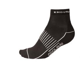 Endura Coolmax Race II Socken (Dreierpack) schwarz