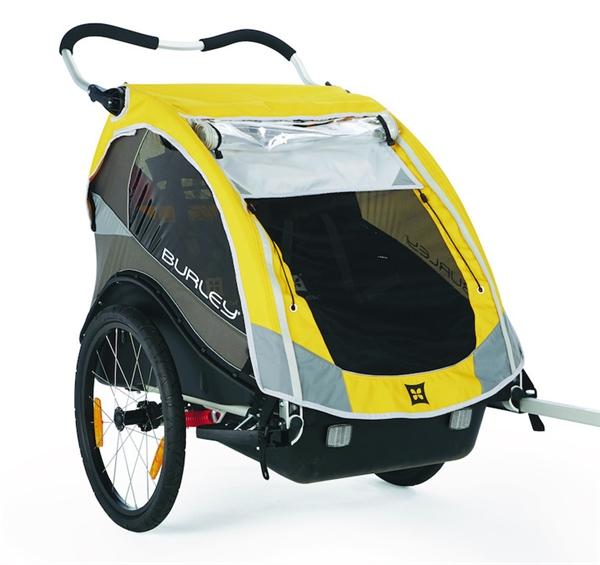 Burley Child Trailer Cub yellow