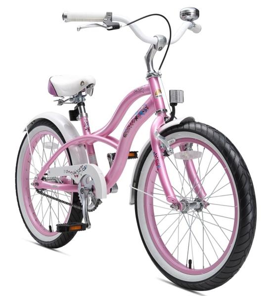 bikestar premium kinderfahrrad cruiser 20 zoll glamour. Black Bedroom Furniture Sets. Home Design Ideas