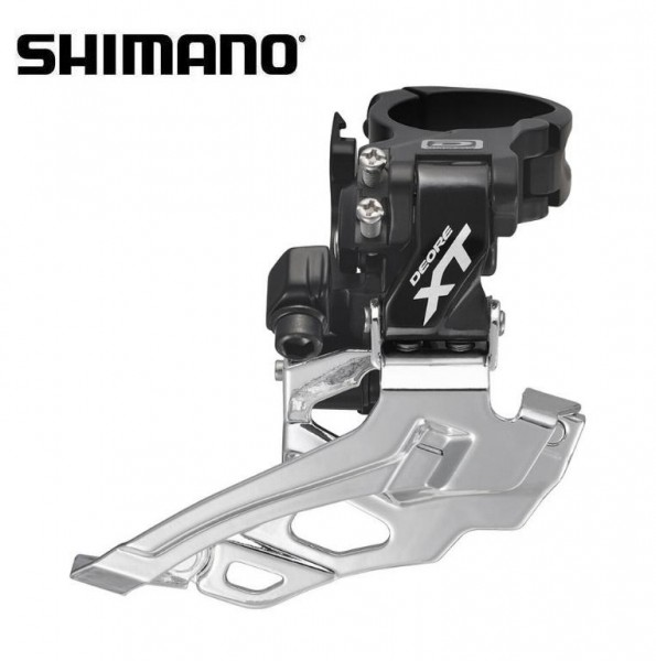 Shimano XT Umwerfer FD-M786 2-fach Dual Pull - Down Swing schwarz