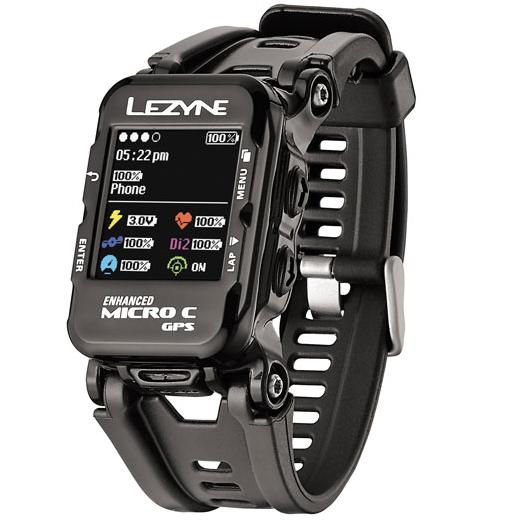 Lezyne Micro GPS Watch Color black