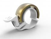 Knog Oi Classic Klingel Limited Edition small - white/brass