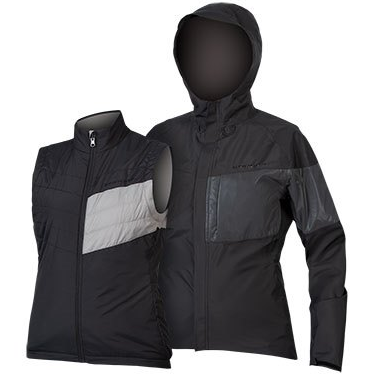 Endura WMS Urban Luminite 3 in 1 Jacket II Women black