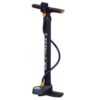 SKS Floor Pump Air X-Press Control with precision gauge