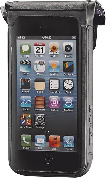 Lezyne Smartphonehülle Smart Dry Caddy Samsung Galaxy S4, wasserdicht schwarz
