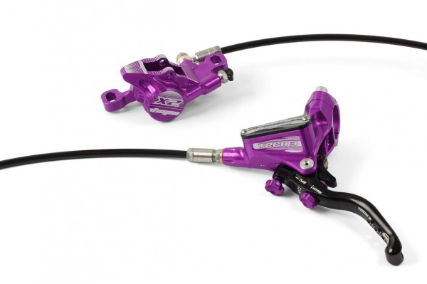 Hope Tech3 X2 Scheibenbremse HR purple