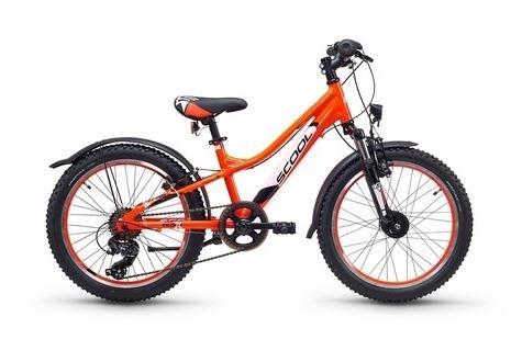 S´COOL troX urban 20 Aluminium 7-Gang neon orange %